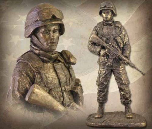American Soldier Female BZ