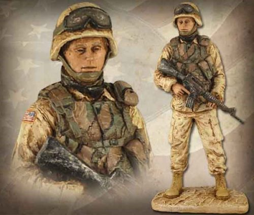 American Soldier Female HP