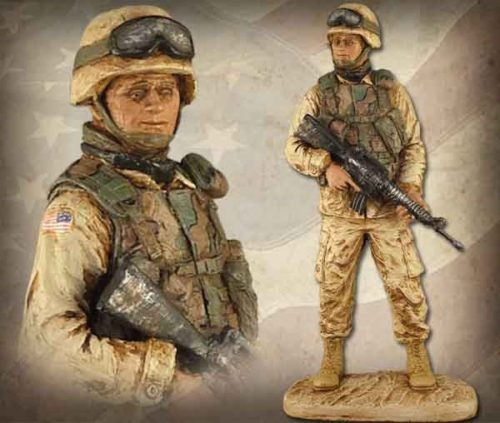 American Soldier Male HP