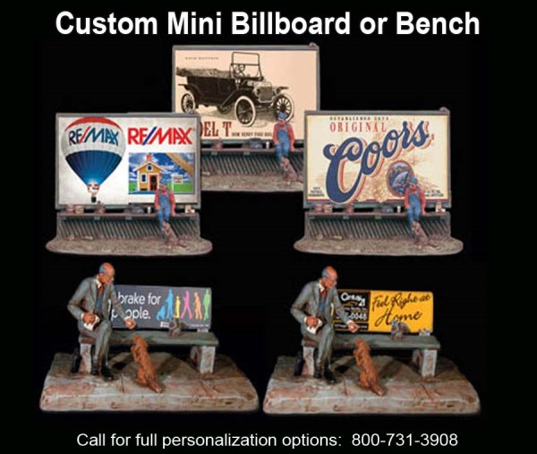 Custom Mini Bench or Billboard