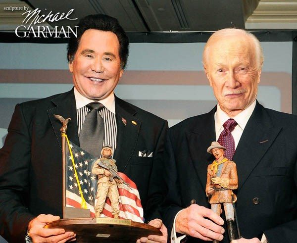 Wayne Newton and Michael Garma