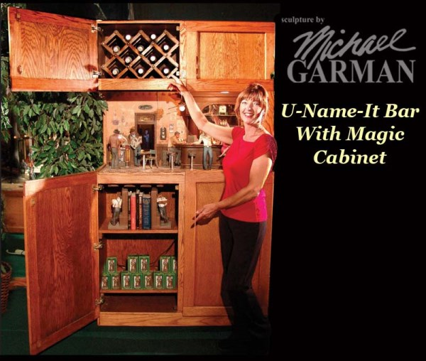 ... Cabinet With Magic U2013 Retired NOT AVAILABLE. ; 