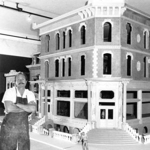 Magic Town was built to 1:6 scale.  it took over 10 years to complete the original exhibit.