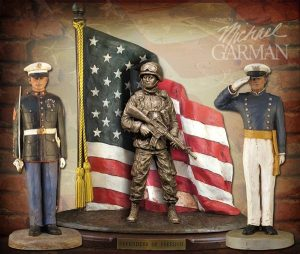 Military Sculpture Series