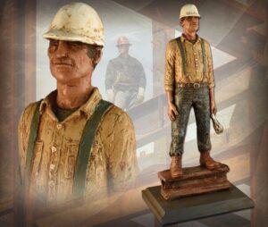 Steelworkers Sculpture Series